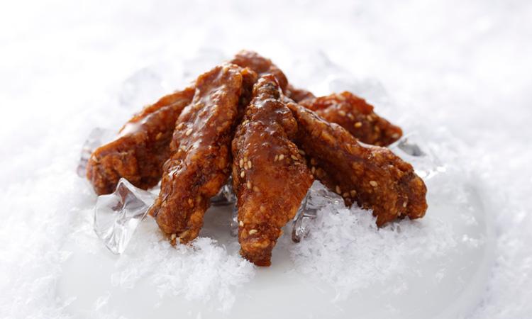 冷たいまま食べられる おすすめNo.1商品『ピリカラチキンバー』